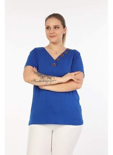 Womenice Bluz Saks